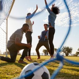 increase fitness with a weekend sports team