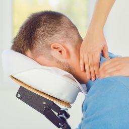 seated acupressure massage