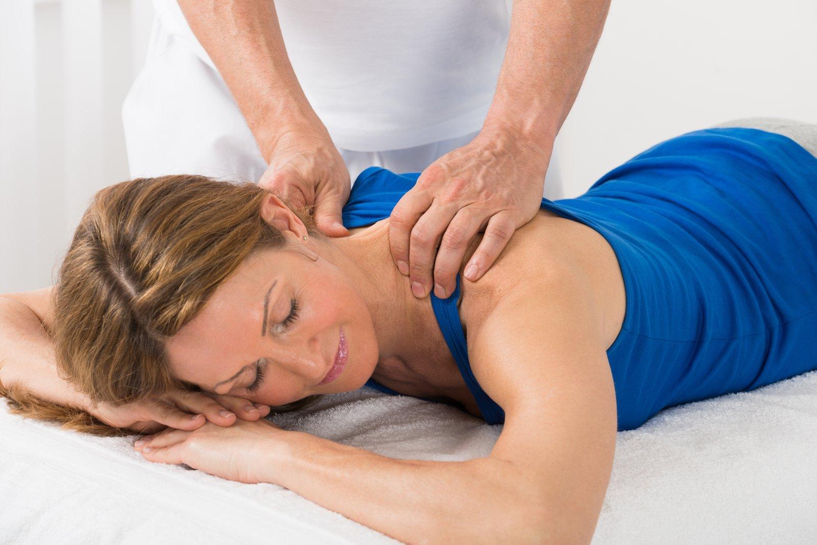 Workplace massage Holistic massage