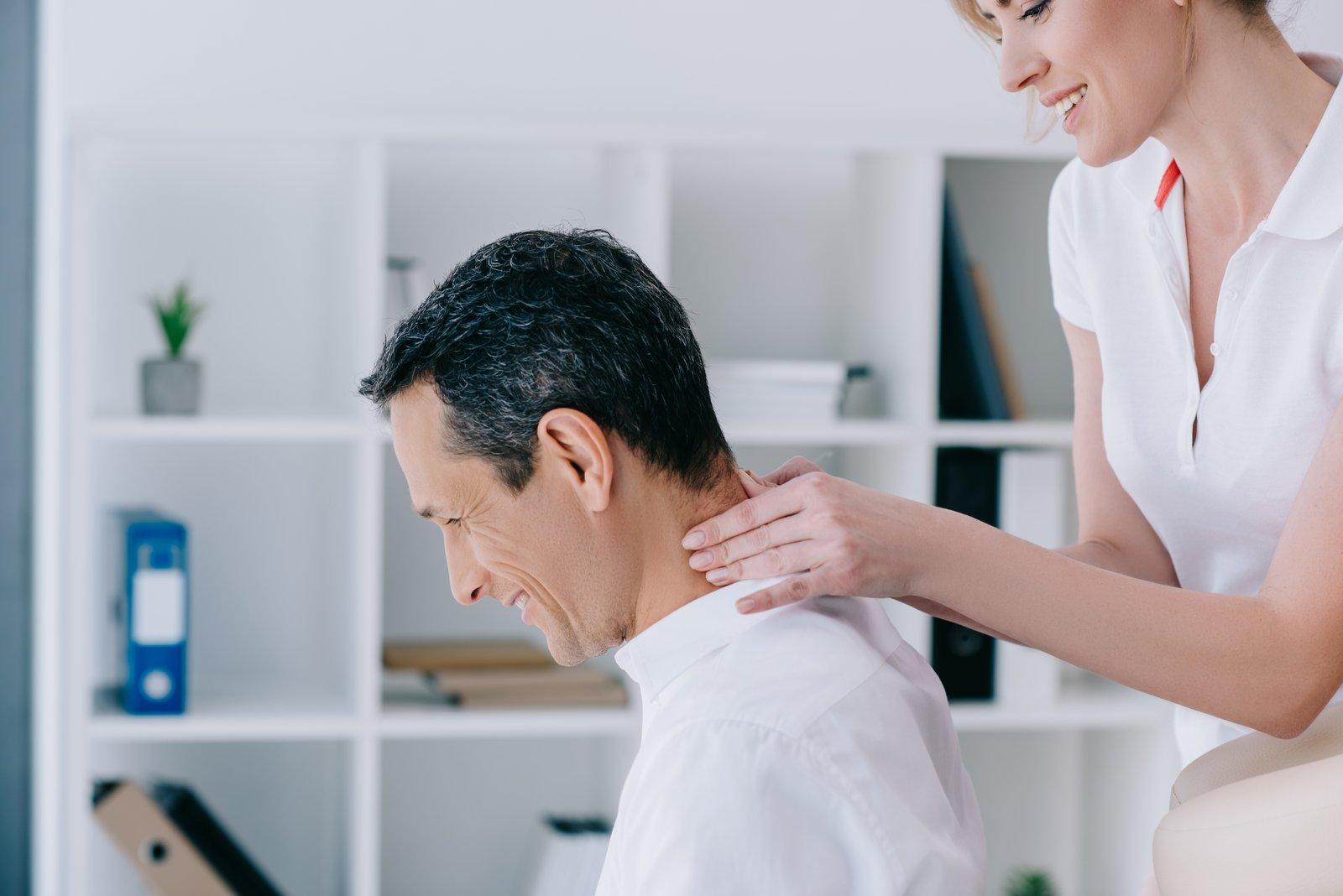 Workplace massage At Desk Massage